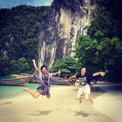 We're so excited, we just can't hide it. Hong Island | Krabi #thailand  (at เกาะห้อง (Koh Hong))