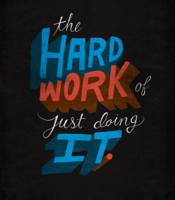 chrispiascik:  (via The Hard Work Of Just Doing It. - Chris Piascik) Prolly recently posted a great video by Bicycling Magazine spotlighting Bilenky Cycle Works. This line comes from the video. Definitely go check it out! Prints and more available at Society6! / Daily Drawing #1315.