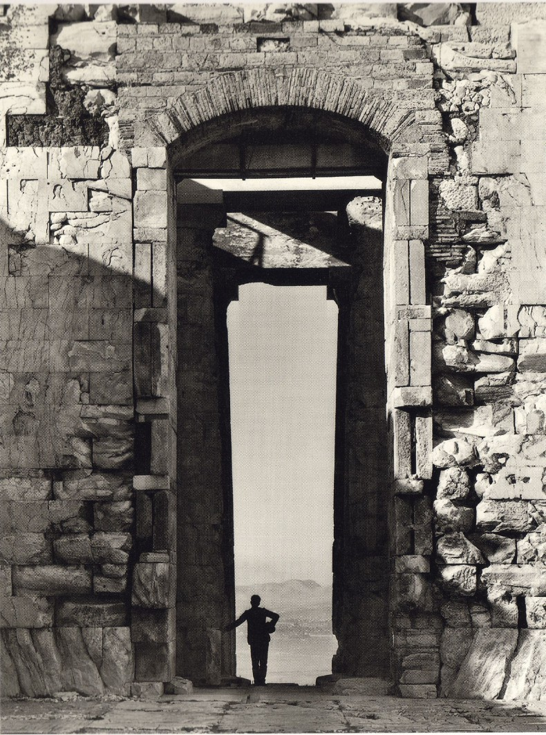 fourteenth:  From the Parthenon, 1900 Fred Boissonnas