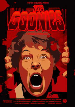 healthymadness:  The Goonies horror version : Tales from the Crypt style