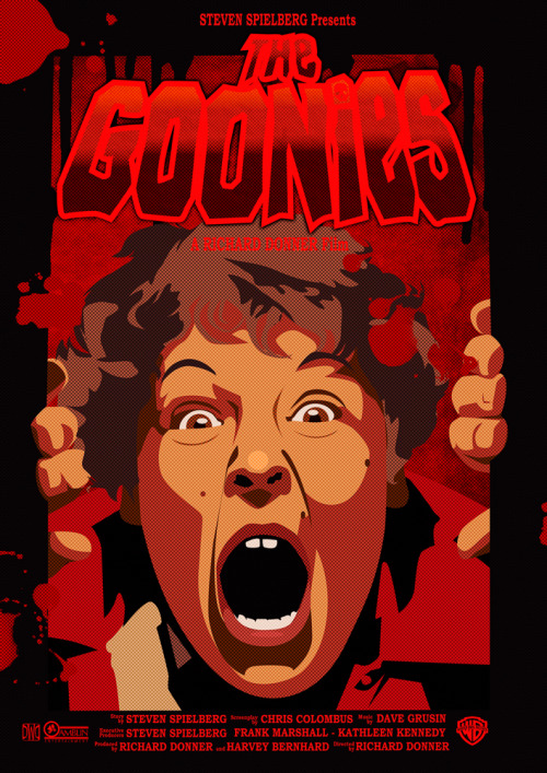 The Goonies horror version : Tales from the Crypt style