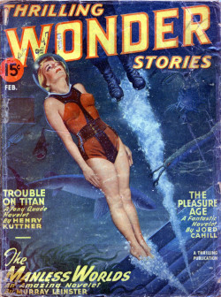 vintagecoolillustrated:  Thrilling Wonder Stories