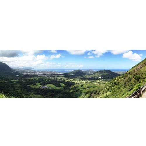 pretty pali panorama