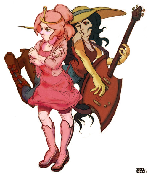 leecario:  PB and Marceline