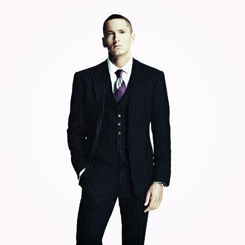 eminem in suit