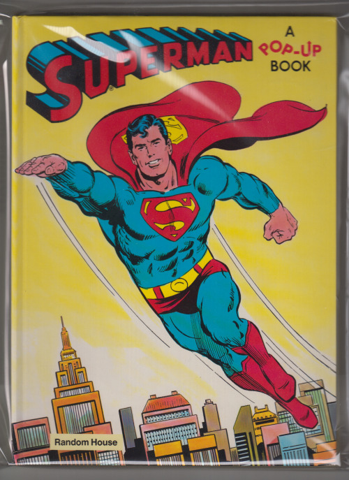 A Curt Swan cover on a Superman pop-up book!  :: squees manfully ::