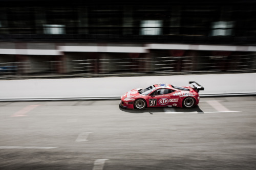 Ferrari 458 Taken at the 24 Hours of Spa-Francorchamps. Image by Jurrie Vanhalle