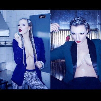 Blue Murderer. #editorial #fashionshoot #fashion #RicardoUrroz #topmodel #models