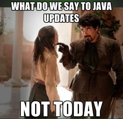 Brace yourselves…updates are coming…
