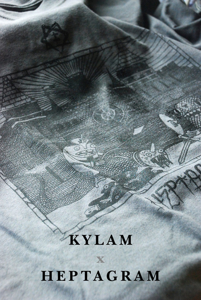 KYLAM - T-shirt for Heptagram Out NowMore info : Here