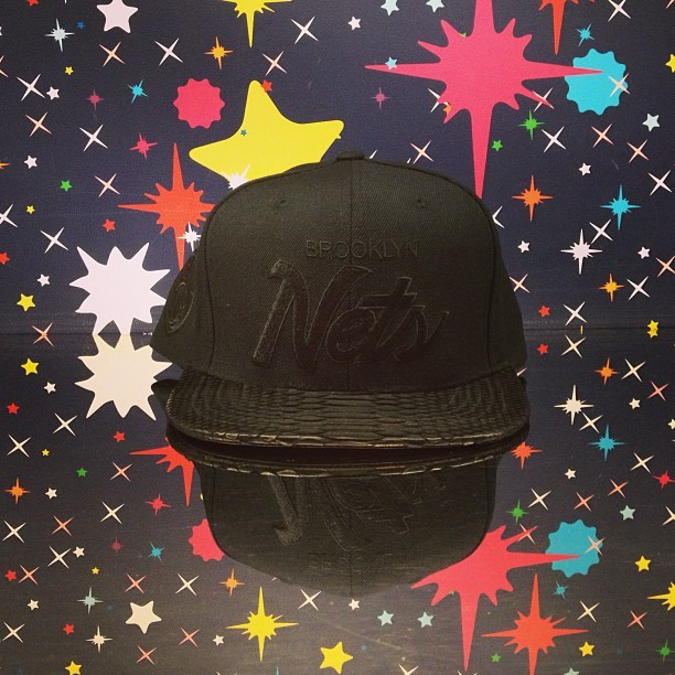 Black Script Nets Logo @justdon hat. #billionaireboysclub #bbcicecream #brooklynnets #brooklyn #nets