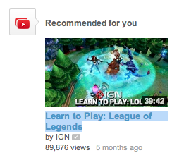 i think youtube is trying to tell me something