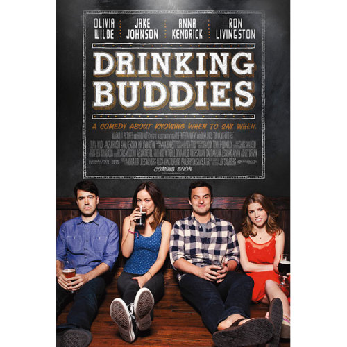 ak47news:  Check out the first official poster for 'Drinking Buddies'!  via