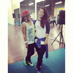 class last night with Gigi Torres !