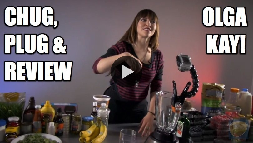 Over on Chug, Plug & Review: Olga Kay steps up to the blender, talks Mooshville, and reviews A Christmas Story! WATCH NOW ON THE LEAGUE OF SUPER CRITICS