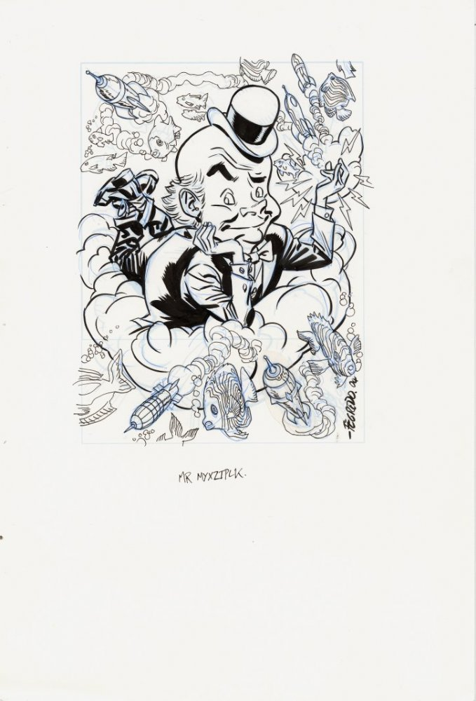love-and-radiation:  Duncan Fegredo's Mr. Mxyztlpk.