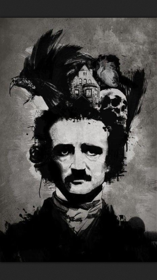 This is just fucking sick  #EdgarAllenPoe #Poe #Tell-Tale #TheRaven