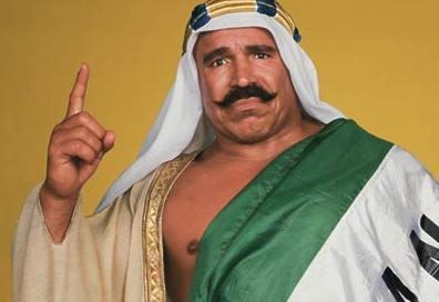 Legit Wrestling Badasses #4: The Iron Sheik The man. The myth. The legend. He needs no introduction. If you do not know who he is, you are punk jabroni motherfacker and you deserve to have Sheiky Baby suplex you, put you in the Camel Clutch, break your back, and then fack your ass to make you humble.