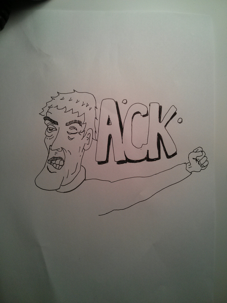 Photo A Day: ack drawing