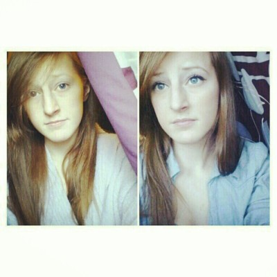 Thank you Jesus for make-up #nomakeup #natural #makeup #beforeandafter #picstitch