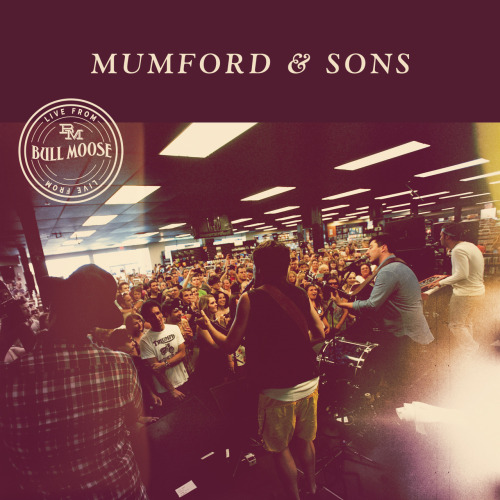 "Mumford & Sons: Live from Bull Moose Recorded live at the Bull Moose in Scarborough, Maine on August 3, 2012, this album is an Exclusive Release that will be available on this year's Record Store Day, April 20th. The album is available exclusively on Record Store Day at Record Store Day participating stores, and will not be available anywhere else in the same formats. Click here to locate a participating store near you. Live from Bull Moose will be released through Glassnote as a 10"" vinyl, as well as a CD, and contains the following tracks: I Will Wait Ghosts That We Knew Where Are You Now Awake My Soul Click here to see photos from, and here to watch video clips of, Mumford & Sons' live performance at Bull Moose on August 3, 2012."