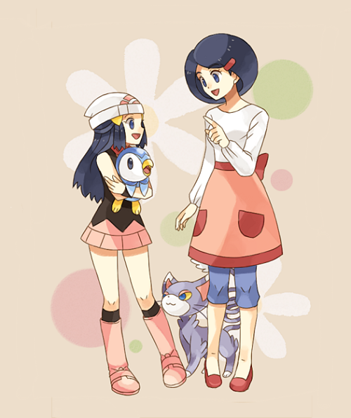 pkmncoordinators:  By うさお Happy Mother's Day!