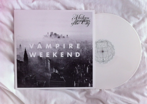 gentle-insomnia:  Modern Vampires of the City white vinyl