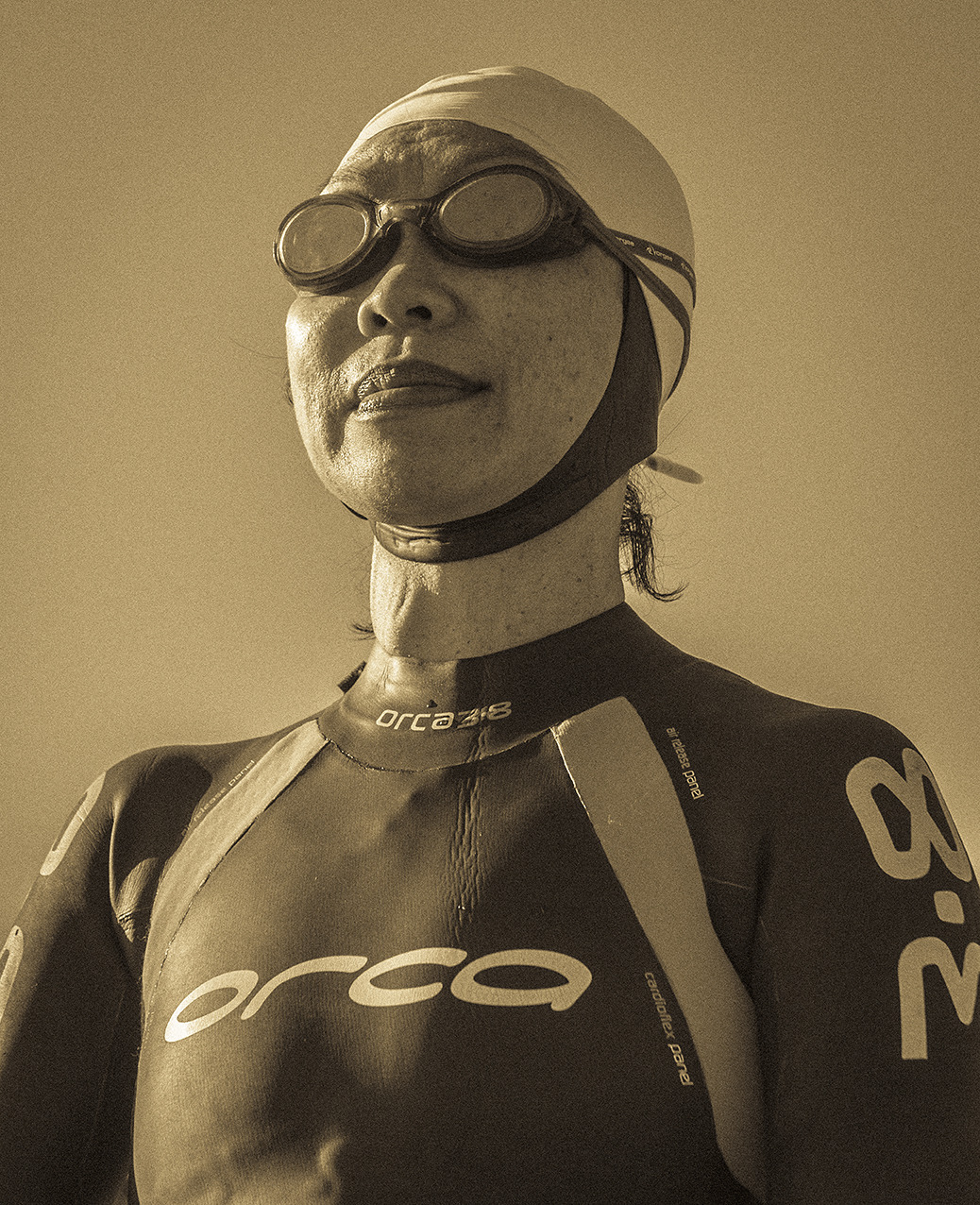 Female Triathlete, Mission Bay, New Zealand