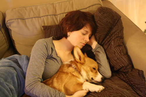 Daddy took a picture of me and Mommy having cuddles!