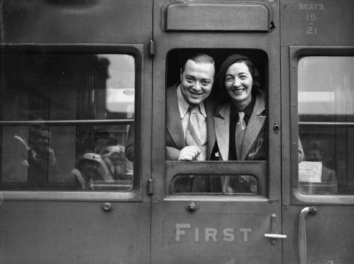babesofvintage:  Peter Lorre and wife Celia Lovsky