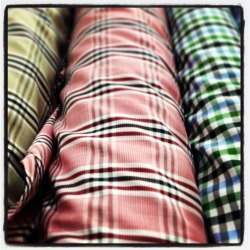 Mad for Plaid - Fabrics available at Franc Lloyd - Custom Menswear Twitter + Instagram: @FrancLloyd