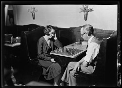 Charles W. Werner's Confectionary [couple playing chess]1523 North Luzerne Avenue, Baltimore, MarylandFebruary 24, 1931John Dubas (fl. 1904-1973)4x5 inch glass negativeArthur U. Hooper Memorial CollectionBaltimore City Life Museum CollectionMC9528 DGoogle Maps Street View of the area today:  View Larger Map