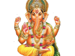 reoffend:  transparent Ganesha by me