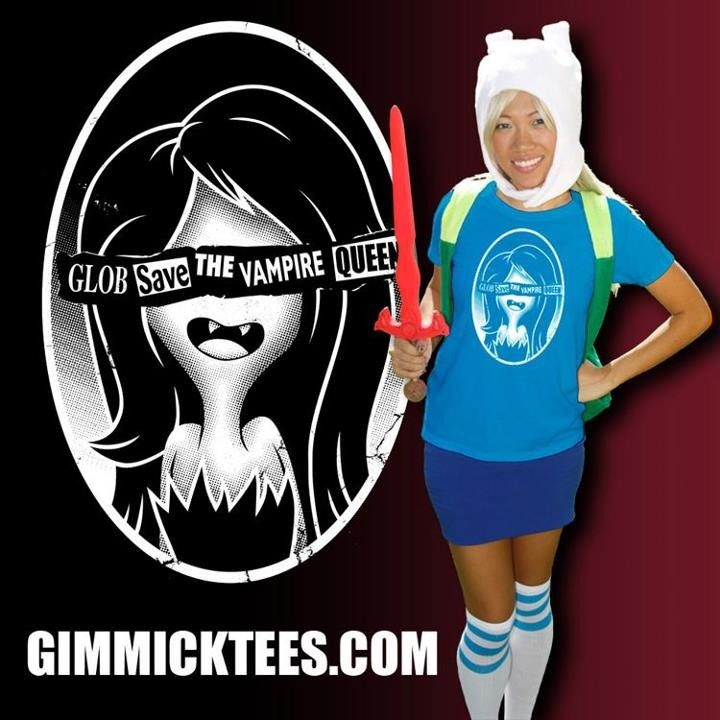 THE SALE HAS BEEN EXTENDED!   Take advantage and head over to GimmickTees.com to grab my Adventure Time/Sex Pistols tee.