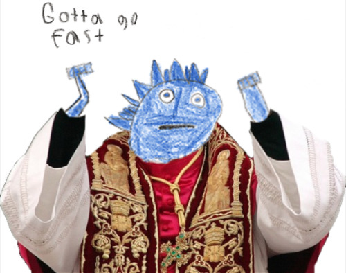 aboutexhaleprivilege:  a new pope rises