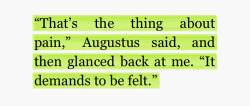 moonist:  the fault in our stars, john green