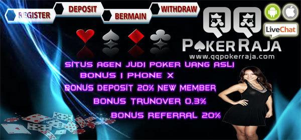Qqpokerraja Situs Judi Dewa Poker 88 Online Terpercaya