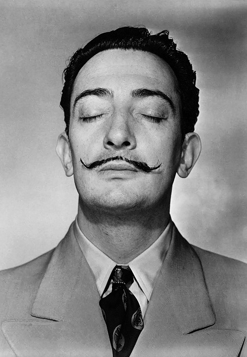 Salvador Dalí, 1943. Photo by Horst P. Horst