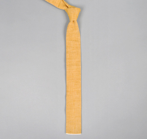The Hill-Side Turmeric Neck Tie