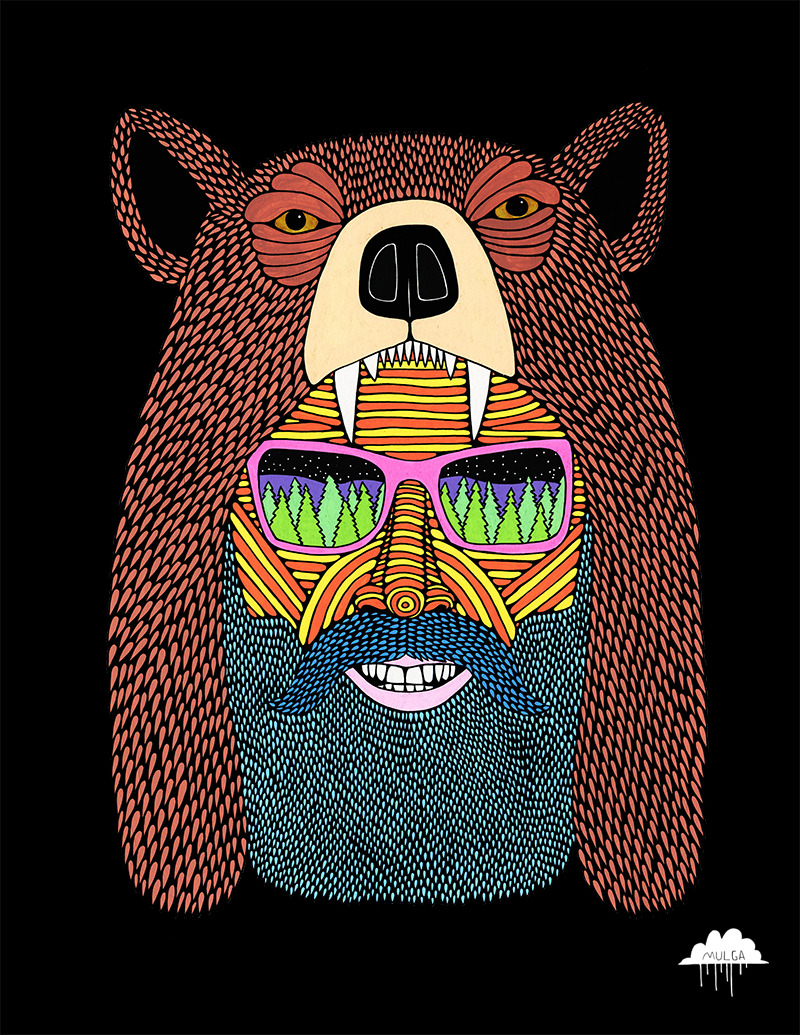 Bear Hat Bob by Mulga