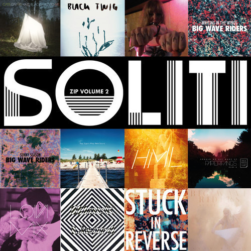 Soliti zip Volume 2 Soliti had a great 2012. Download the Soliti Zip Volume 2 or stream it here. 1.  Big Wave Riders : Waiting In The Wings2.  The New Tigers : I Have Been Replaced (Top Sound cover)3.  Astrid Swan : Cream of Gold (Serefe Sound System Remix)4.  Paperfangs : I Felt The Ocean5. Black Twig : Paper Aeroplane6. Big Wave Riders : Sunny Season (Aves Remix)7. Delay Trees : HML8. Eric & Magill : Should We All Wake Up (Paperfangs remix)9. Paperfangs : Everyday10. Big Wave Riders : Stuck In Reverse (Serefe Sound System Remix)11.  Black Lizard : Dead Light12. Cats On Fire : A Few Empty Waves13. Big Wave Riders : Sunny Season14. The New Tigers :  Detalji  facebook   soundcloud  webpage