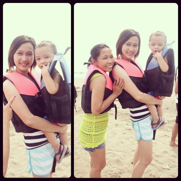 I miss you nate and ate @leiapicella #throwback #Zambales #PotipotIsland #beach