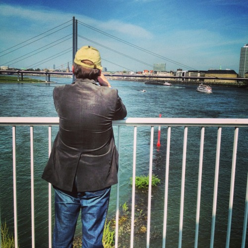 staring at the rhine