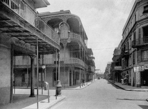 bohemianwaif:  new orleans, french quarter (1900s)