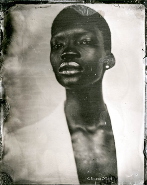 A week or so ago I shot my first tintypes of 2013 with the beautiful model Acok Majak. It was my first time taking my portable darkroom outside of my home studio.It was a long hard day and the results paid off. There is nothing as rewarding to me as this process of making photographs. A huge THANK YOU  to LUX-SF Studios for giving me there space, the light in there is incredible beautiful not to mention the view. If you are interested in taking a private workshop with me you can here.