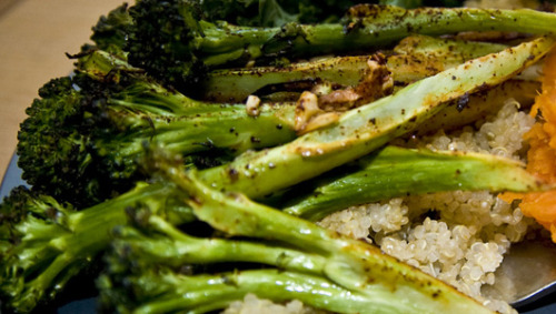 Recipe: Parmesan Roasted BroccoliThink you don't like broccoli? Try roasting it, and you may change your mind about this nutritional powerhouse.