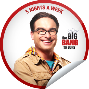 I just unlocked the The Big Bang Theory: Leonard sticker on GetGlue                      41393 others have also unlocked the The Big Bang Theory: Leonard sticker on GetGlue.com                  Congratulations, you've unlocked Leonard's sticker! With an IQ of 173…and a social life, you're an archetypal anomaly. Keep upping your IQ with The Big Bang Theory, now on 5 Nights a Week! Share this one proudly. It's from our friends at Warner Bros. Television.