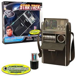 missfishy:  I NEED THIS! I'm dressing up for the future Star Trek premiere and of course I'm going to be a medical/science person so I need this tricorder so hard. I'm going retro trek since they don't make the new uniform in any color besides red for women because they're assholes. Whoever they are…