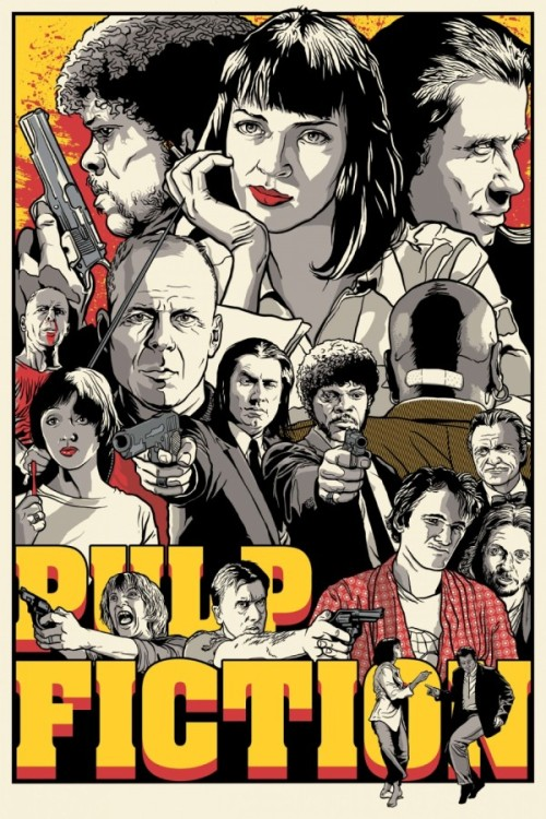 suicideblonde:  Pulp Fiction by Joshua Budich
