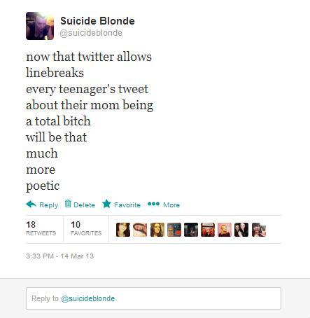 suicideblonde:  Because typing likethismakes everythingsound extraextrameaningful